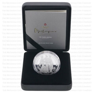 2021 St Helena The Three Graces 2oz Silver Proof Two Pound - Boxed with Cert