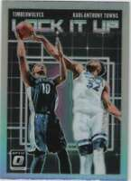 2018-19 Donruss Optic Lock it Up! Holo Prizm #10 Karl-Anthony Towns Timberwolves
