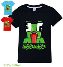 UNSPEAKABLE  boys black blue red summer tee t-shirt top size 5-15
