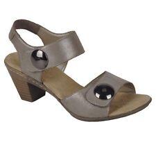 Sandali e scarpe casual beige Rieker per il mare da donna