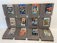 x12 Original NES nintendo games lot some RARE - SHIPS FREE! All Tested/Working