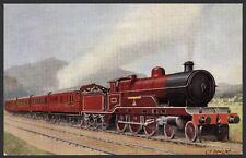 Vintage Trains. LNWR Claughton Loco in London Midland & Scottish Rail Livery. PC