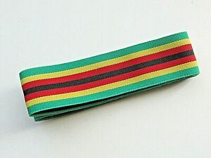 Zimbabwe Independence Medal Replacement Ribbon (5 feet)
