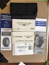 2008 Chrysler 300 Genuine OEM Owner's Manual with Case-