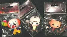 HORROR ICON MAGNETS IT PENNYWISE FREDDY JASON SET Of 3