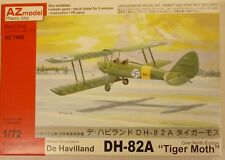 AZ Model 1/72 DH-82A Tiger Moth Biplane Fighter Model Kit North Europe 7409 NIB