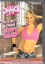 D6 Crunch Workout - Belly, Butt & Thighs Boot Camp DVD Video