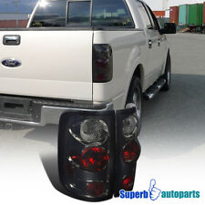 For 2004-2008 Ford F150 Styleside Replacement Tail Lights Smoke Pair