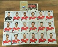 Panini WM 2018 Russland Russia Team Complete Set World Cup WC 18
