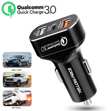 30V USB Car Charger 8.4 Amp High Speed Fast For Apple iPhone Samsung HTC LG Moto