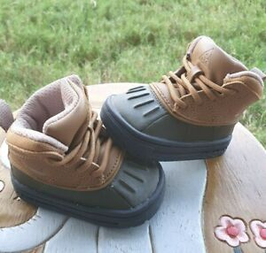 Nike Woodside II Tan/Olive BRAND NEW Toddler 3C