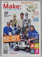 Make: Magazine Vol. 02 (2005) Star Wars Droids, Atari 2600, Mouse Robot, HDTV