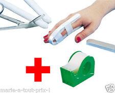 attelle de doigts alu et mousse + sparadrap microporeux atelle rapide pratique !