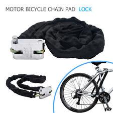 1.2M Cadena de servicio pesado y Cerradura fuerte de seguridad bicicleta motocic