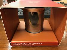 Teavana Stainless Steel Loose Leaf Tea Infuser Brand New