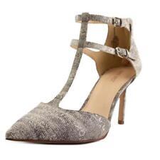 Zapatos de tacón de mujer Nine West de tacón alto (más que 7,5 cm) de color principal blanco