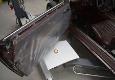 Satz 2 Stück Dichtfolie auf Türblech für Mercedes-Benz 107 SL SLC