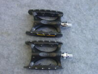 MKS IC Lite Tourenpedal Aluminium 9/16 schwarz