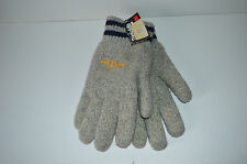 SOS Sport Wool Winter gloves S/M Adult Unisex Thinsulate Light Grey