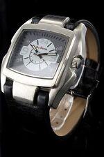 Jay Baxter Herrenuhr Ziffernblatt Grau Weiß Armbanduhr Echt Leder PJB269