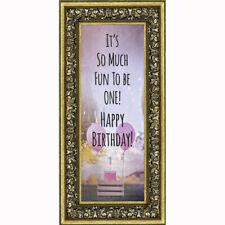 **NEW** Birthday Girl, Baby Keepsake Picture Frame, 6x12 7407