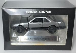 Tomica Limited  1/64 Scale ** Nissan Skyline 2000 Turbo RS-X  *RARE*