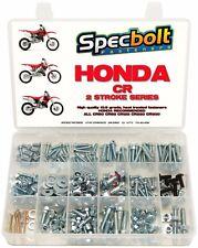250pc Honda CR Bolt Kit w FREE TOP END SET CR 80 85 125 250 450 500 CR125 CR250