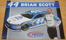 2016 Brian Scott Albertsons Ford Fusion NASCAR Sprint Cup postcard