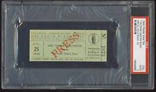 "4/25/45 ""The Frank Sinatra Show"" Cbs Studio Full Ticket - Psa 2 (Good)"