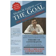 The Goal : A Process of Ongoing Improvement by Eliyahu M. Goldratt, David...