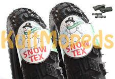 2 Winterreifen Schlauch pas. f Simson SR50 SR80 Roller HEIDENAU K57 M+S 3,00x12