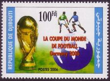Djibouti Dschibuti 2006 Soccer, Futbol, Fußball, MNH, Sc 844, Mi 807A, CV €80