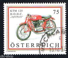AUSTRIA 1 FRANCOBOLLO MOTOCICLETTA KTM 2011 usato