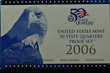 2006-S US QUARTER PROOF SET(Orginal Mint Packaging) 5 GEM Proof Coins