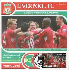 Liverpool 2005-06 Everton (Harry Kewell) Football Stamp Victory Card #533