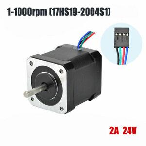 Nema 17 Stepper Motor 0.5(NM) 2A 4 Cables 48mm DIY 3D Printer CNC Reprap