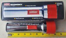 Vintage NOS NIB Eveready Ever Ready 5251 D Cell 2x D Battery USA Made Flashlight