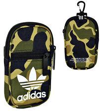 ADIDAS Mini Tasche Pouch Camo Geldbörse Gürteltasche Handyhülle Camouflage NEU