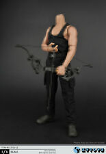 1/6 scale Black vest Combat trousers suit ZY16-12 First Blood Rambo Stallone