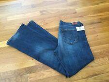 NWT AG Adriano Golfschmeid The Angel Bootcut Indigo Wash Jeans Womens Size 32R
