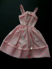 Robe vintage PRINTEMPS (?) pour poupée mannequin TRESSY BELLA / AC