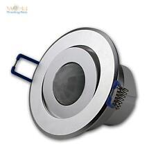 360° détecteur de mouvement encastré NOBLE! argent/Aluminium comme neuf