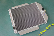 56MM ALUMINUM RADIATOR FOR FORD F-SERIES TRUCK W/CHEVY 350 V8 SWAP A/T 1942-1952