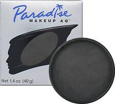 Paradise Makeup AQ Face & Body Paint, MEHRON MAKEUP, 1.4 oz Black