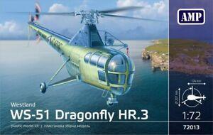 AMP 72-013 WS-51 Dragonfly HR/3 Royal Navy model plastic kit 1:72 scale