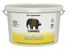 Caparol IsoDeck 12,5 L -Isolier-Wirkung gegen Nikotinverfärbung-