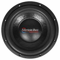 "American Bass XO 1044 10"" 600 Watt Car Audio Subwoofer DVC 4-ohm Sub XO1044"