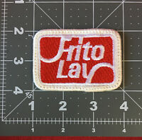 Vintage FRITO LAY Snack Food Advertising Patch
