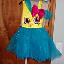 Girl`S Costume Size Medium ( 7 - 8 ) Shopkins Cupcake Queen Nwt