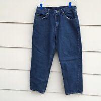 Wrangler Premium Quality Denim Regular Fit Jeans Mens Measures 32 X 30